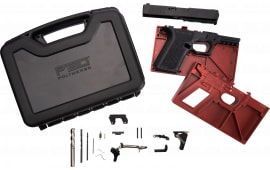 Polymer80 PF940CBBSBLK PF940C Buy Build Shoot Kit Glock 19/23 Gen 3 Polymer Black 15rd