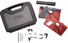 Polymer80 PF940CBBSGRY PF940C Buy Build Shoot Kit Glock 19/23 Gen 3 Polymer Gray 15rd