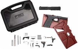 Polymer80 PF940V2BBSGRY PF940v2 Buy Build Shoot Kit Glock 17/22 Gen 3 Polymer Gray 15rd