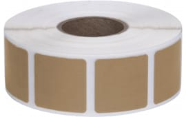 PAST/BR PASTERS: Brown (1000 7/8? SQ PER Roll