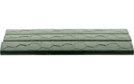 Hexmag HXLRC3PKFDE LowPro Rail Cover Picatinny 18 Slot Polymer Flat Dark Earth 3 Pack