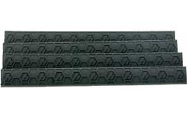 Hexmag HXMLC4PKBLK WedgeLok Slot Cover M-Lok 4 Slot Polymer Black 4 Pack