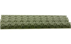 Hexmag HXMLC4PKFDE WedgeLok Slot Cover M-Lok 4 Slot Polymer FDE 4 Pack