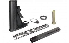 UTG Pro RBU6BM Mil-Spec Rifle AR15/M16 Buttstock Kit Polymer/Aluminum Black