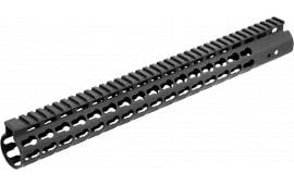 UTG Pro MTU019SSK AR15 Rifle 6061-T6 Aluminum Black Hard Coat Anodized