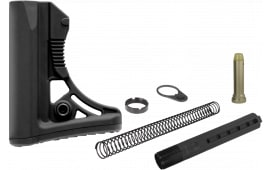 UTG Pro RBUS3BM Mil-Spec S3 AR15/M16 Rifle Buttstock Kit Aluminum/Polymer Black