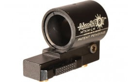Aimshot MTKMQRLM KeyMod QR Flashlight Mount Black