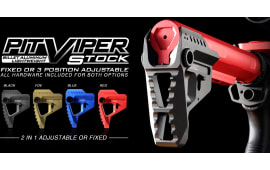 SI VIPER-PIT-RED PIT Viper Stock