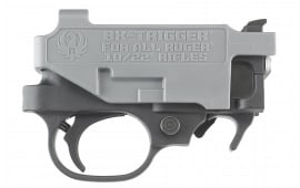 Ruger 90462 BX Trigger 10/22 and 22 Charger Trigger Standard Metal Black