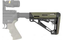 Hogue 15240 AR-15 Rifle Collapsible Buttstock Mil-Spec Polymer OD Green