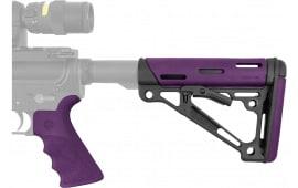 Hogue 15655 AR-15 Rifle Polymer Purple Stk/Grip