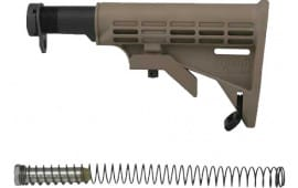 Tapco 16762 Intrafuse Commercial AR-15 T6 Composite Stock Flat Dark Earth