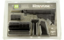Tapco 16814 Intrafuse AR-15 T6 Composite Stock Set Black
