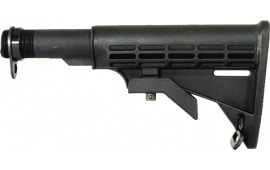 Tapco 16761 Intrafuse Commercial AR-15 T6 Composite Stock Black
