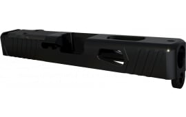 Rival Arms RA10G205A Precision Slide Doc Optic Cut Compatible with Glock 19 Gen 3 17-4 Stainless Steel Black
