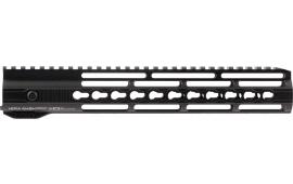 "Hera 110506 IRS AR15 Rifle Aluminum Handguard with Keymod Black Hard Coat Anodized 12"""