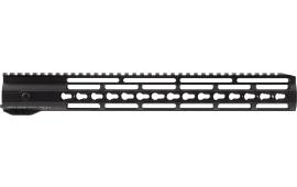 "Hera 110507 IRS AR15 Rifle Aluminum Handguard with Keymod Black Hard Coat Anodized 15"""