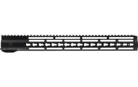 "Hera 110509 IRS AR15 Rifle Aluminum Handguard with Keymod Black Hard Coat Anodized 16.5"""