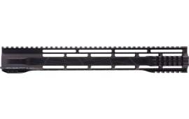 "Hera 110510 IRS AR15 Rifle Aluminum Handguard Hybrid Black Hard Coat Anodized 15"""
