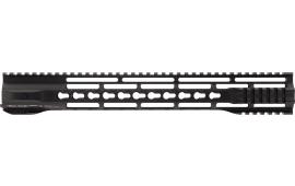 """Hera 110511 IRS AR15 Rifle Aluminum Handguard Hybrid with Keymod Black Hard Coat Anodized 15"""""""
