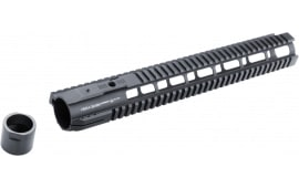 Hera 110524 IRS AR10 Rifle Aluminum Handguard Black Hard Coat Anodized 15""