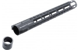 "Hera 110527 IRS AR10 Rifle Aluminum Handguard with Keymod Black Hard Coat Anodized 15"""