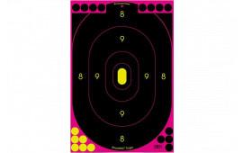 Birchwood Casey 34633 SHOOT-N-C 12X18 Silhouette Pink 100PK