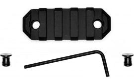 "Grovtec US Inc GTSW227 Picatinny Keymod Rail AR Style 5 Slot Aluminum 2.2"""