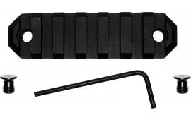 "Grovtec US Inc GTSW228 Picatinny Keymod Rail AR Style 9 Slot Aluminum 3.8"""