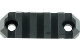 "Grovtec US Inc GTSW236 Picatinny M-Lok Rail AR Style 5 Slot Aluminum 2.2"""