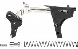 ZEV FFT-PRO-DRP-3G9-B-B Flat TRG Dropin 9mm Black/Black