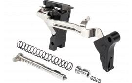 ZEV FFT-PRO-ULT-3G9-B-B Flat TRG Ulti 9mm Black/Black