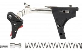 ZEV FFT-PRO-ULT-3G9-B-R Flat TRG Ulti 9mm BK/RD