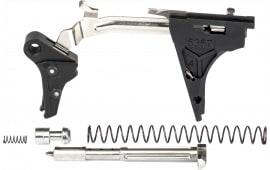 ZEV FFT-PRO-ULT-4G9-B-B Flat TRG Ulti 9mm Black/Black