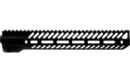 "Seekins Precision 0010530051 Noxs Handguard 12"" AR-15 Rifle 6005A-T6 Aluminum Black Hard Coat Anodized"