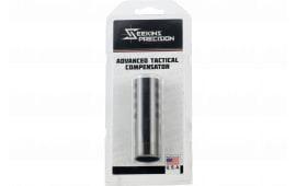 Seekins Precision 0011510035 ATC Muzzle Break 1/2x28 tpi 416 Stainless Steel Black Melonite