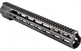 """ZEV HG308WEDGE14 Large Frame 308 Rifle Wedge Lock Handguard Aluminum Black Hard Coat Anodized 14.625"""""""