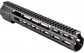 """ZEV HG308WEDGE12 Large Frame 308 Rifle Wedge Lock Handguard Aluminum Black Hard Coat Anodized 12.625"""""""