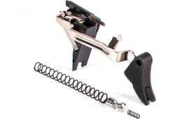 ZEV CFTPRODRP4G9 Pro Trigger Drop-In Kit compatible with Glock 19/17/34/26 Gen 4 17-4 Stainless Steel/Aluminum Black