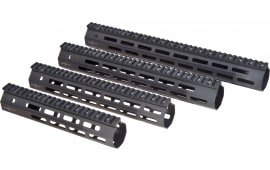 Troy Ind SRAIML111BT0 Battle Rail AR-15 Aluminum Black