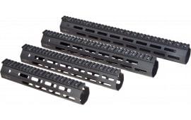 Troy Ind SRAIML115BT0 Battle Rail AR-15 Aluminum Black