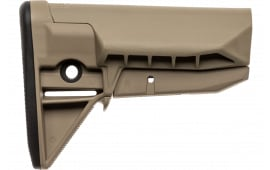 Bravo GFSMOD0SPMDF BCMGunfighter SPMD Mod 0 Stock Assembly Polymer Flat Dark Earth