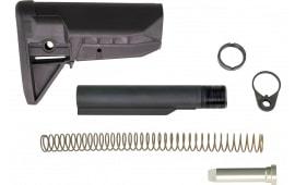 Bravo GFSKMOD0SPMD BCMGunfighter AR-15 Sopmod Widebody Stock Kit Polymer Black