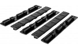 "Trinity Force MNRKB Universal Keymod/MLok Rail Cover Black Heat Resistant Rubber 4.7"" L x 0.6"" W"