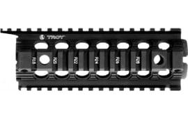 Troy Ind SRAIDIDD7BT Battle Rail Rifle 6005A-T6 Aluminum Black