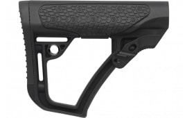 Daniel Defense 210910417900 Collapsible Buttstock Rifle Glass Reinforced Polymer Black