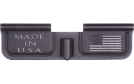 Spikes SED7002 Ejection Port Door AR-15 Laser-Engraved USA/Flag Steel Black