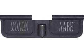 Spikes SED7009 Ejection Port Door AR-15 Laser-Engraved Molon Labe Steel Black