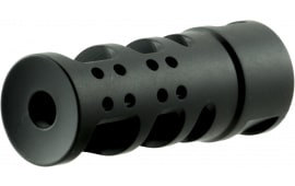 "Spikes SBV1065 R2 Muzzle Brake 3oz 2.25"" .5x28 tpi 416 Stainless Steel"
