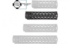 """Yankee Hill 9633DX Diamond Series Forearm 9.3"""" AR-15 Aluminum Black"""